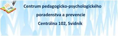 Centrum pedagogicko-psychologického poradenstva a prevencie Svidník